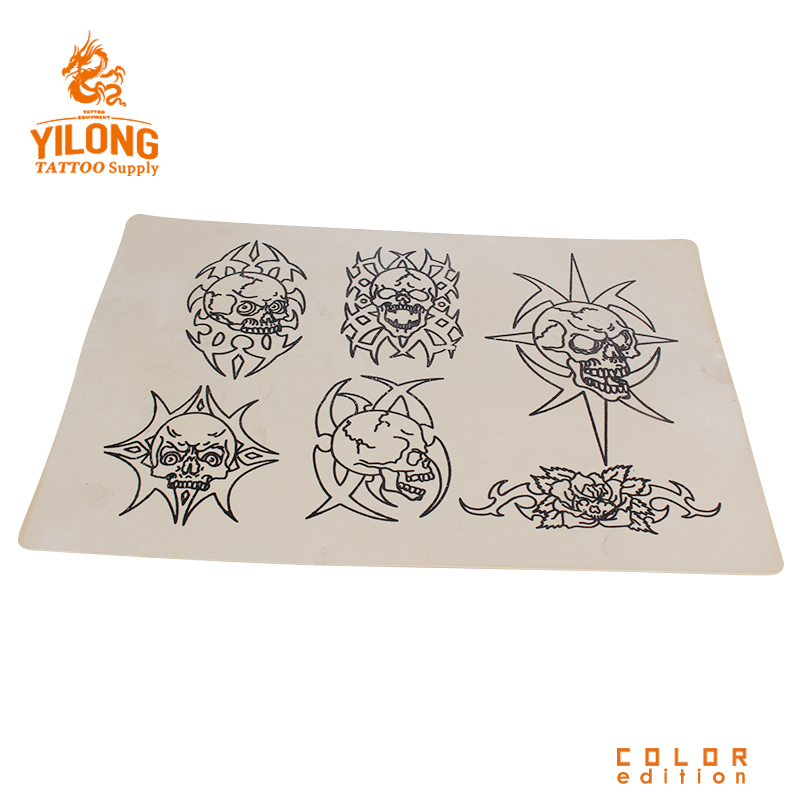 over 20 years experience/supplier of tattoo companies /OEM Yilong  Permanent Make Up Tattoo Practice skin,Skull-100g (20cm*30)