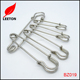 China exported various sized blank kilt safety pin for Children