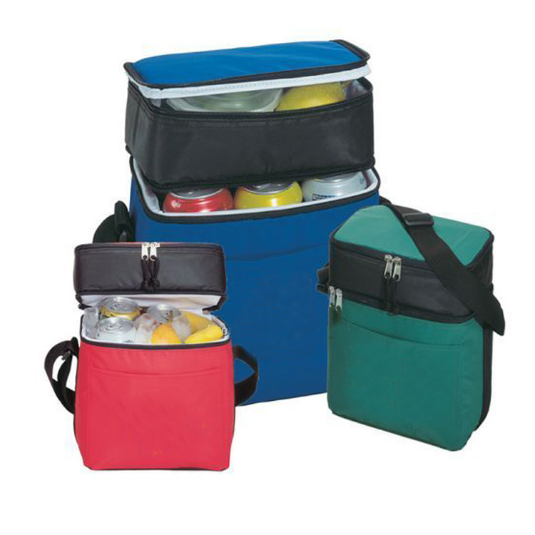 Promo Nylon 6 Pack with Insulated Lunch Box, cooler bag