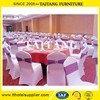 Factory sale hotel cheap spandex folding chair cover from chin supplier