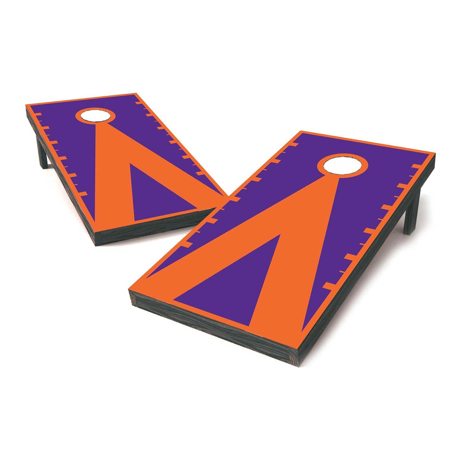 Clemson Two Tone College Football Sticker Covers Board Decals Stickers