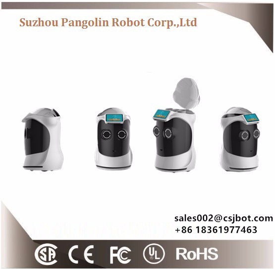Five Star Luxury Hotel Robot Object Delivery Robot Smart Robot Food and Coffee Room Service Hotel Service Robot Smart Robot
