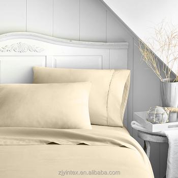 USA Home Bamboo Fiber Bed Linen/100% Bamboo Bed Sheet Set