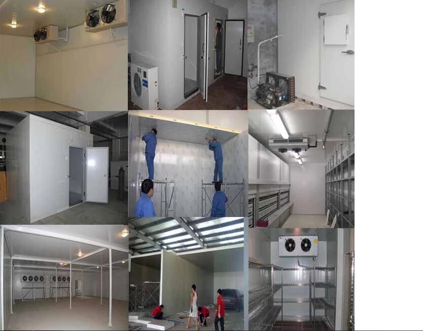 XMK Best Price Cold Room Cold Storage For Fish With Door