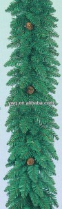 pine christmas garland 2014 artificial pvc christmas tree pvc fiber optic tree