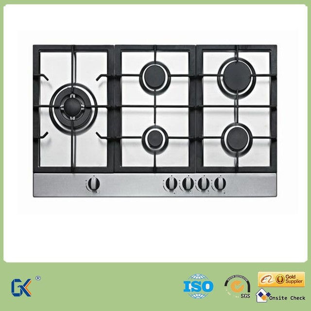 Italian Kitchen Appliances Stainless Steel 5 Burner Gas Stove To Home