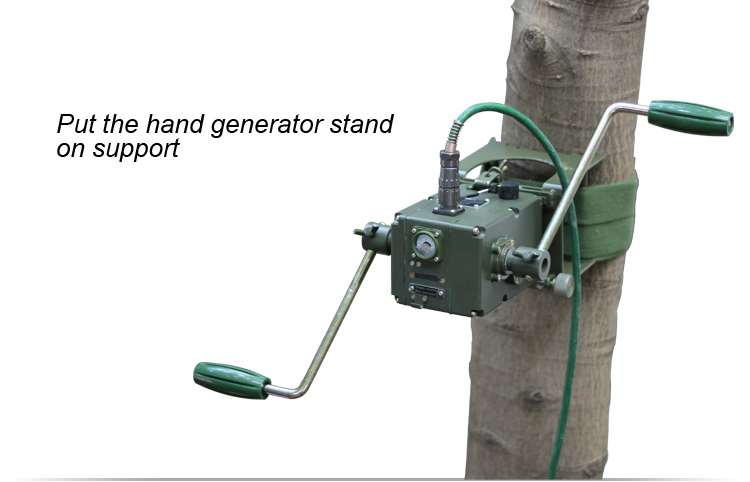 Military Hand Crank Magnetic Generator Buy Military Hand