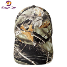 American hot selling fashion design camo color 100% cotton hats and caps men