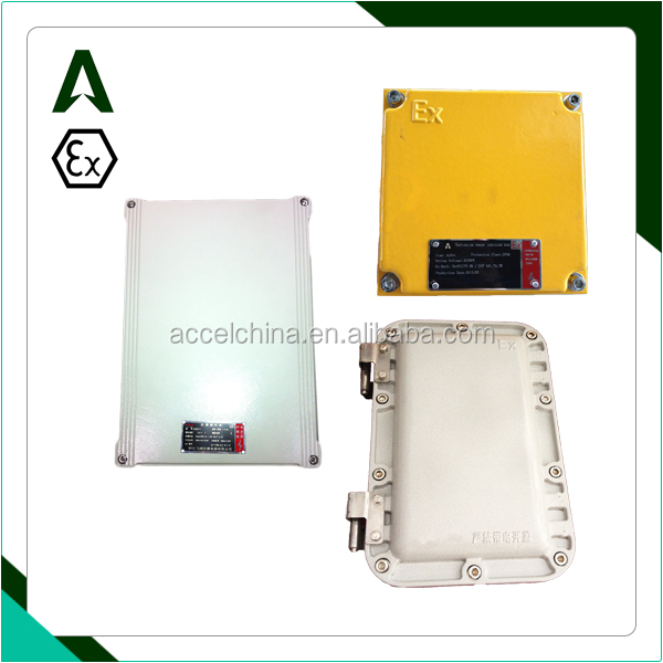 ex proof aluminium alloy junction box enclosure