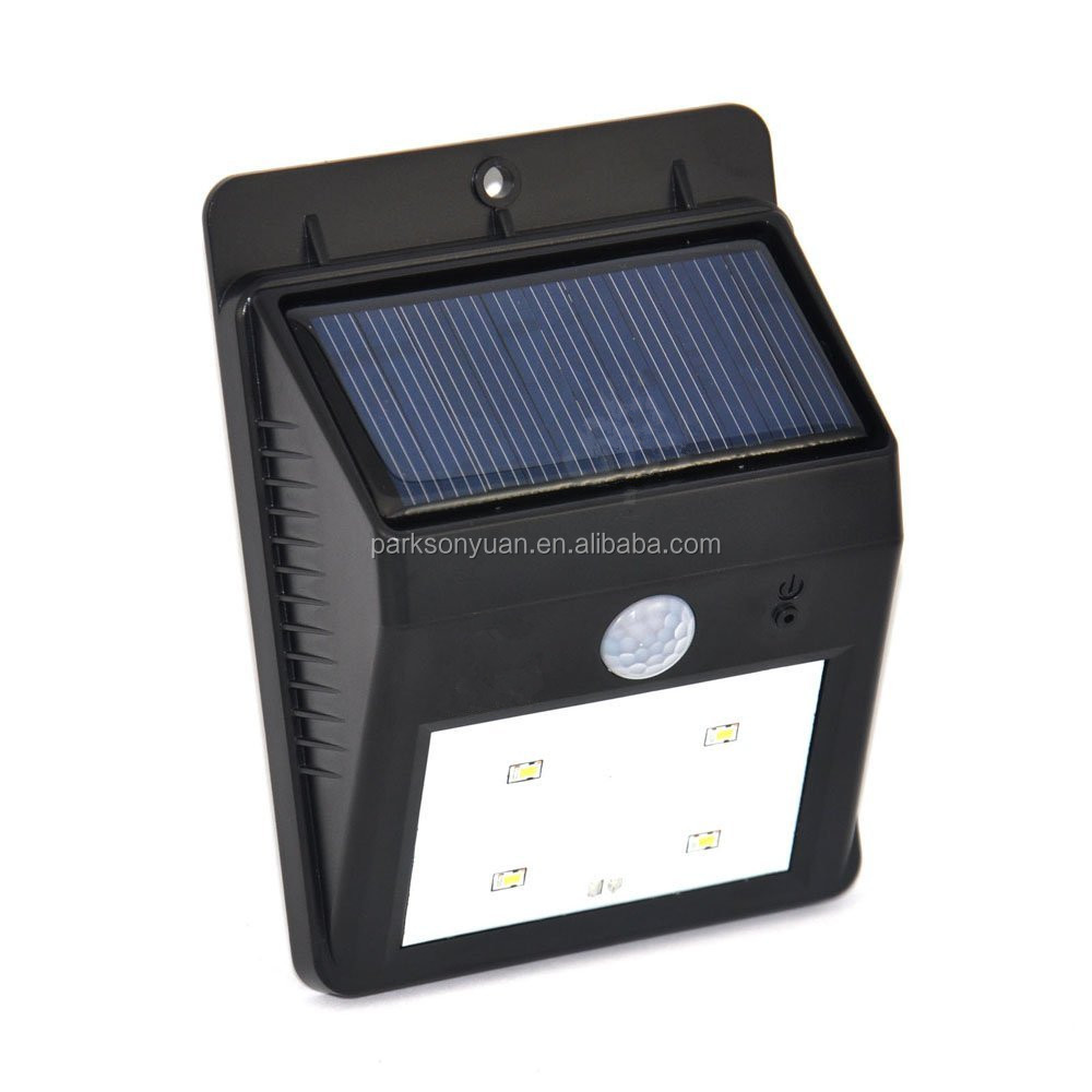 Led Solar Motion Sensor Lights Waterproof Wireless Solar Outdoor ...