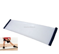 Portable easy carry hockey slide board