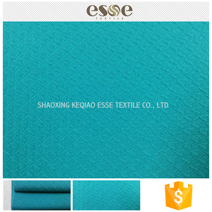 Chinese supplier women jacquard garment textiles polyester material buy fabric from China