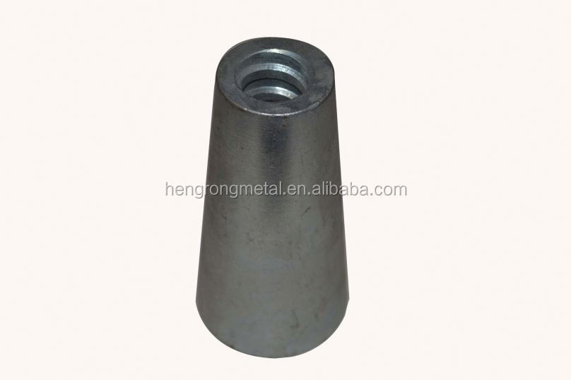 factory direct supply high quality formwork accessories Malleable cast iron Galvanied climbing cone prop cone for construction