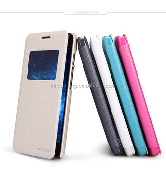 Flip Cover For Asus Zenfone 6 NILLKIN Sparkle Leather Phone Case Cover