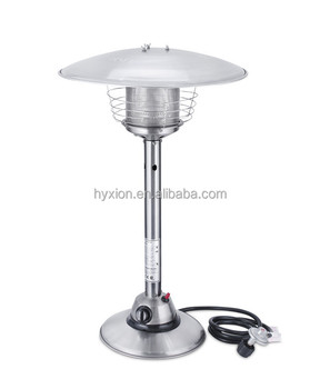 outdoor gas heater table top natural gas 202 stainless steel - Natural Gas Patio Heater
