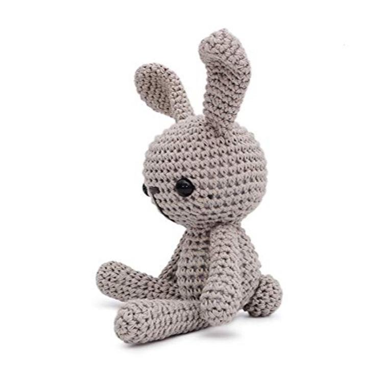 Оптовая продажа 25 см пряжа и полиэфирная Наполняющая крючком вязаная кукла