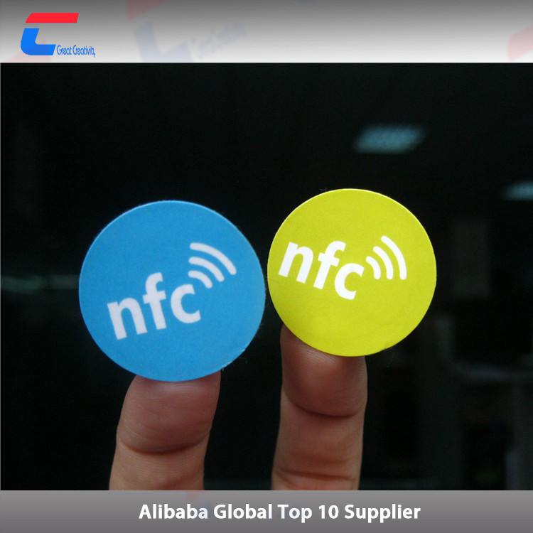 mobile payment 13.56MHz rfid nfc shopping cart tag