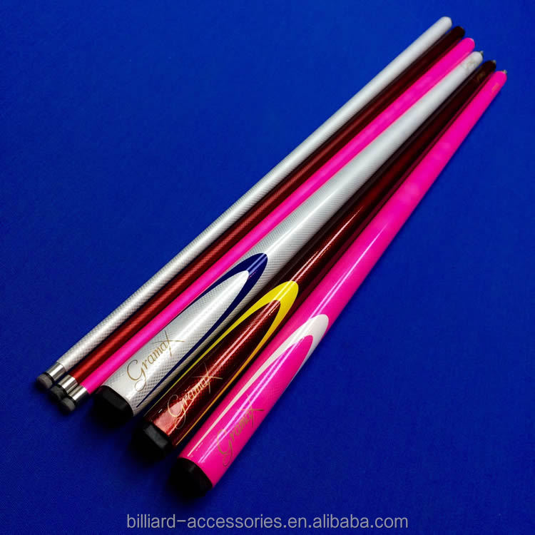 High quality design 1/2 joint carbon fiber cue, snooker cue, billiard cue