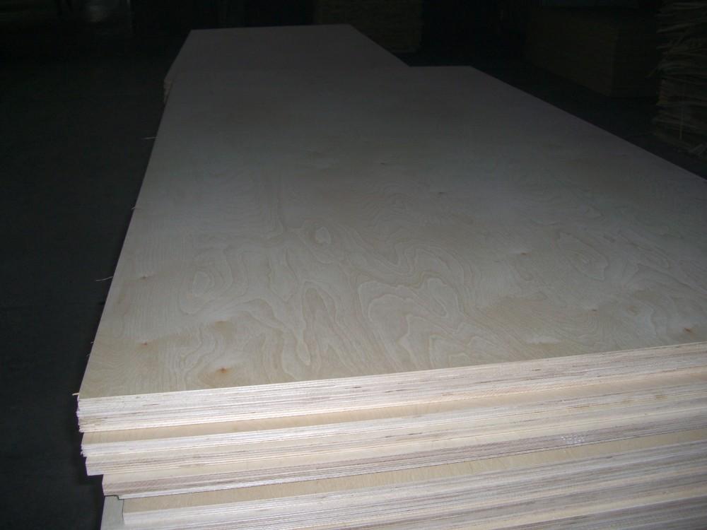 Birch plywood for furniture grade veneer