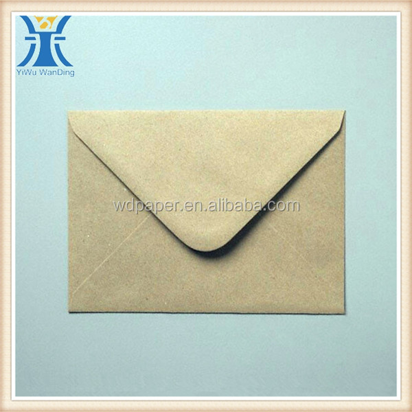 YIwu 2014 new arrived business mini c5 brown kraft paper envelopes