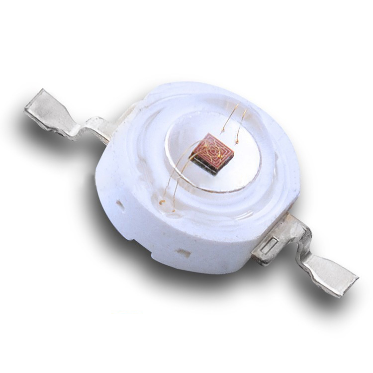 wide angle 140 degree 40lm 1w 3w 660nm high power red led chip for light therapy lamp