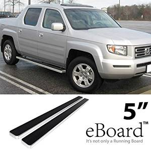 Get Quotations EBoard Running Boards Aluminum 5 For 06 12 Honda Ridgeline Nerf Bars Step