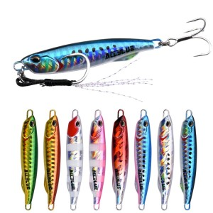 ALLBLUE DRAGER SLIM Metal Casting Jig Spoon 20G 30G Shore Jigging Lure Drag Cast Jigging Lead Artificial Bait