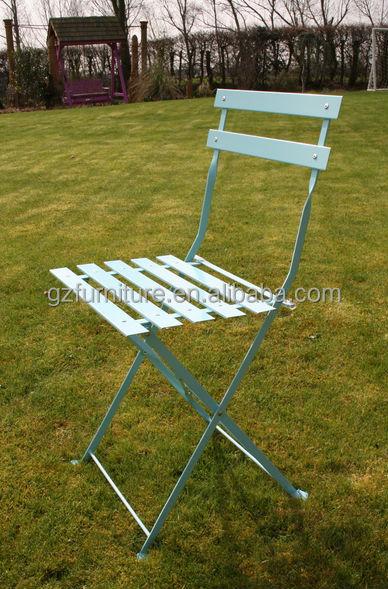 Portable Folding 3 Piece Metal Garden Furniture Bistro Set
