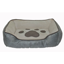2017 New Product Durable Washable Large Pet Dog Sleeping Bed From China/High Quality Comfortable Luxury Wholesale Cotton Dog Bed