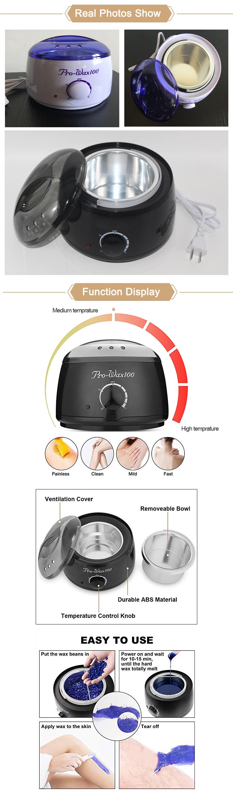 2018 Professional Pro Wax 100 Wax Warmer Heater Hair Remover