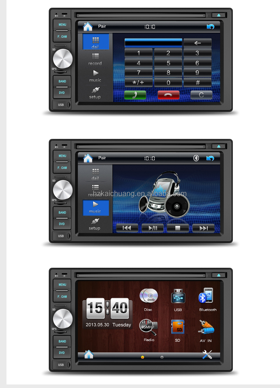 Pioneer Wince System Car Stereo With 6 2 Inch Touch Screen