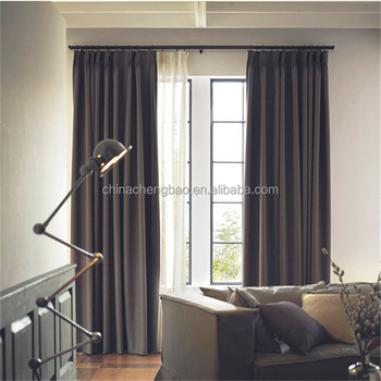 Window Blackout Curtain For Hotel Living Room