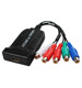 HDMI to YPbPr Component RGB 5RCA R/L Converter Scaler support R/L Audio output for Xbox PS3 PS4 Roku STB Blu-ray Players DVD