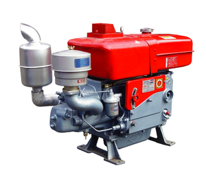 4-stroke single cylinder water cooled horizontal type diesel engine ZS1125