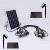 2019 extensive use cafe garden festival decoration solar powered outdoor Edison light string for Christmas holiday event