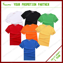 180 gsm 100% Cotton T-shirt, MOQ 100 PCS 1102022 One Year Quality Warranty