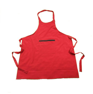 one pocket work wear aprons cheap red aprons grooming apron