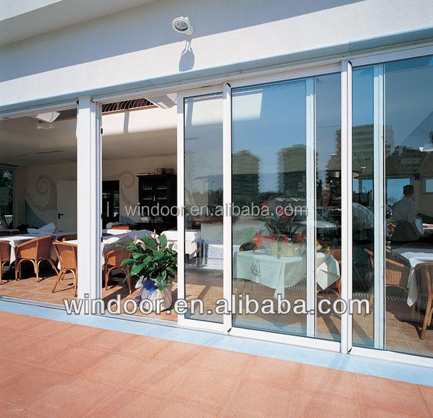 Folding Plastic Sliding Door Dubai: Customized Styles Dubai Upvc Doors,Double Glass Heat