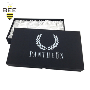 elegant design deluxe boxes package with silk lining,scarf package box