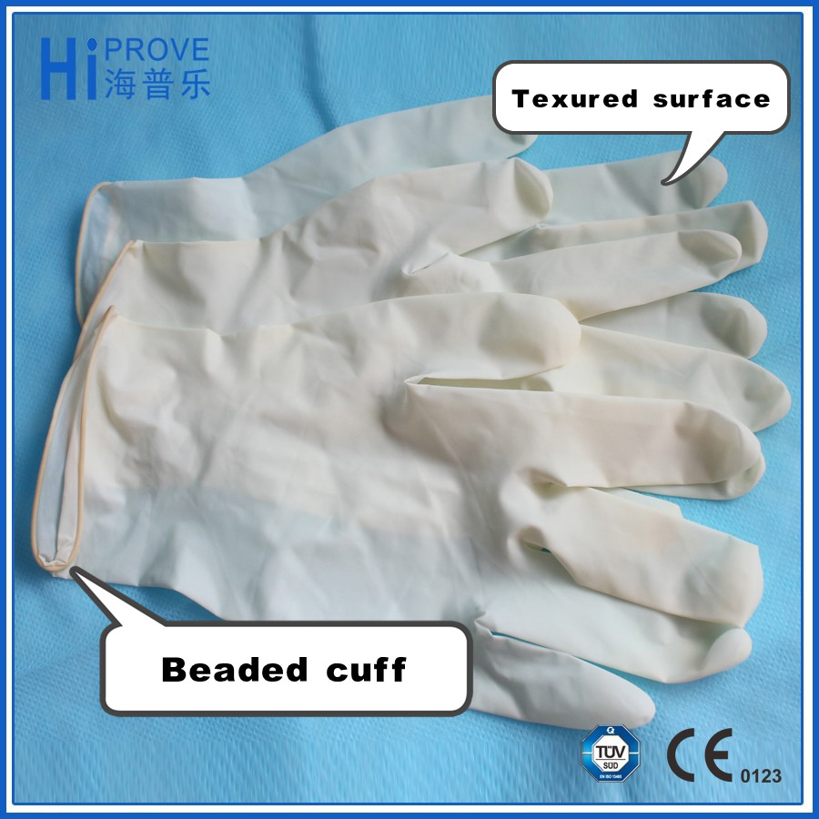 non sterile latex medical examination glove