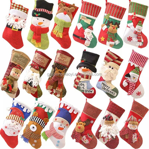 Christmas stocking gift bags, gift bags, size 16*9*12cm Christmas gifts