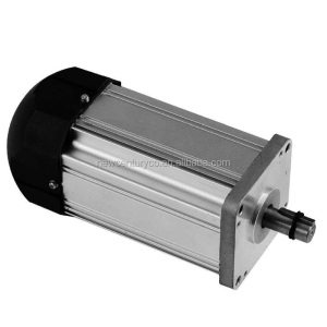 Brushless DC electric car motor kit 7 5KW