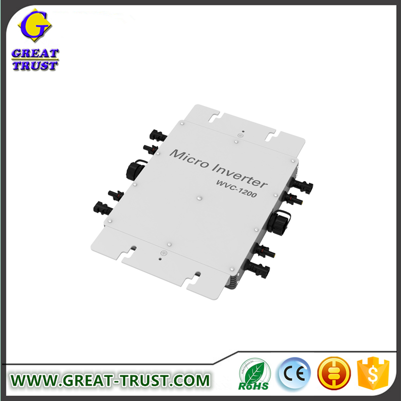 Wholesale 2017 5000w micro grid tie inverter micro grid tie inverter connect to ul power cable