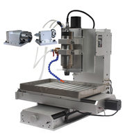 Vertical HY-3040 1500W Cheap 4th Axis CNC Milling Machine