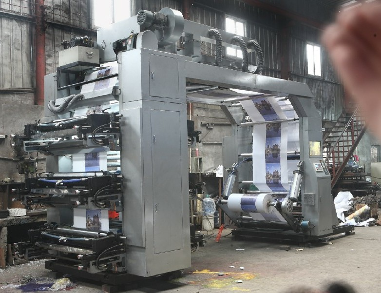 Auto Loader & Auto Unloader Material Unit High Speed Flexo Printing Machine