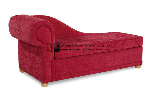 high end red fabric sofa bed
