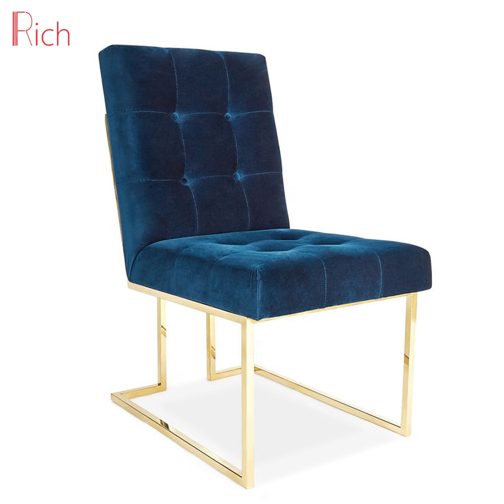 Pleasant Modern Furniture Mid Century Design Stainless Steel Metal Chair Navy Blue Velvet Goldfinger Dining Chair Buy Dining Chair Goldfinger Dining Gmtry Best Dining Table And Chair Ideas Images Gmtryco