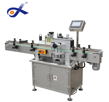 Automatic plastic round bottle labeling machine machine for 100 bottles per minute