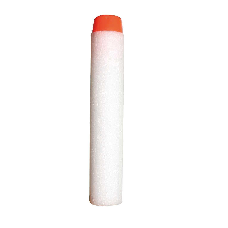 AMTION 200 Pcs 7.2cm Refill Bullet Soft Foam Darts for Nerf N-strike Elite Series Blasters Kids Toy Gun White