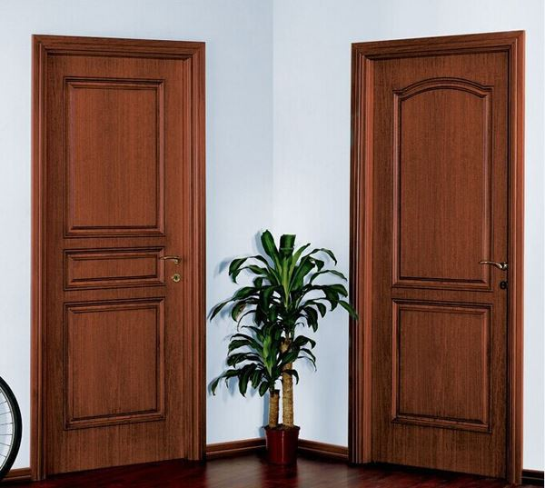 hot sale fancy modern interior room door latest wooden
